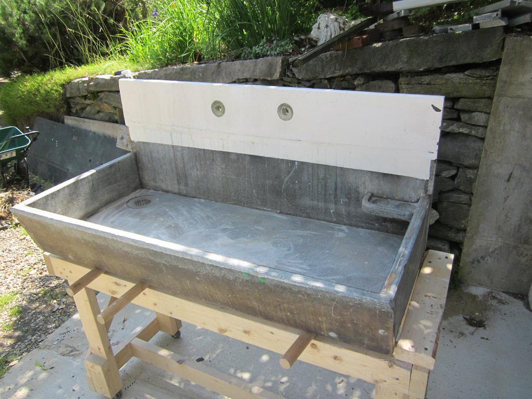 antique stone sinks more
