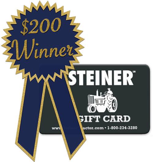 $200 Gift Card Winner