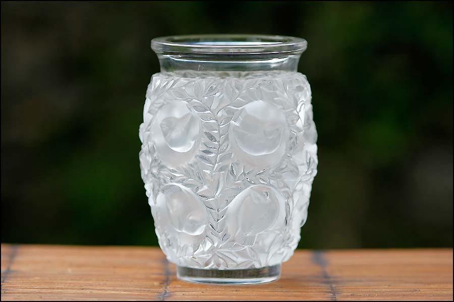 Cristalleries d'art: vase René Lalique France