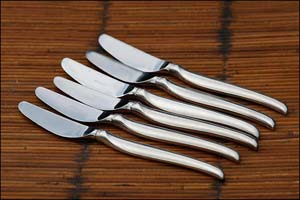 Les couteaux: l'argenterie