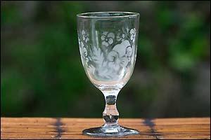 La verrerie - Verre gravé
