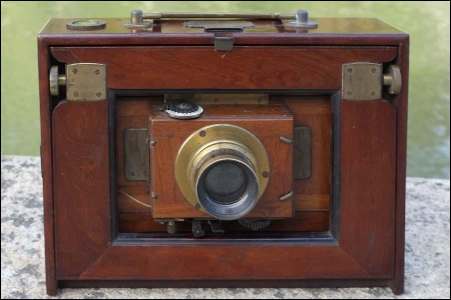 Décoration avec une chambre photographique