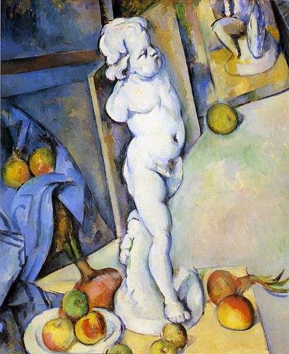 Cezanne Paul l'amour en plâtre