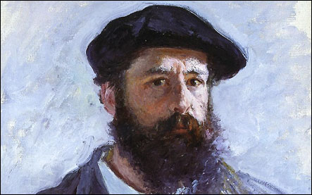 Claude Monet autoportrait