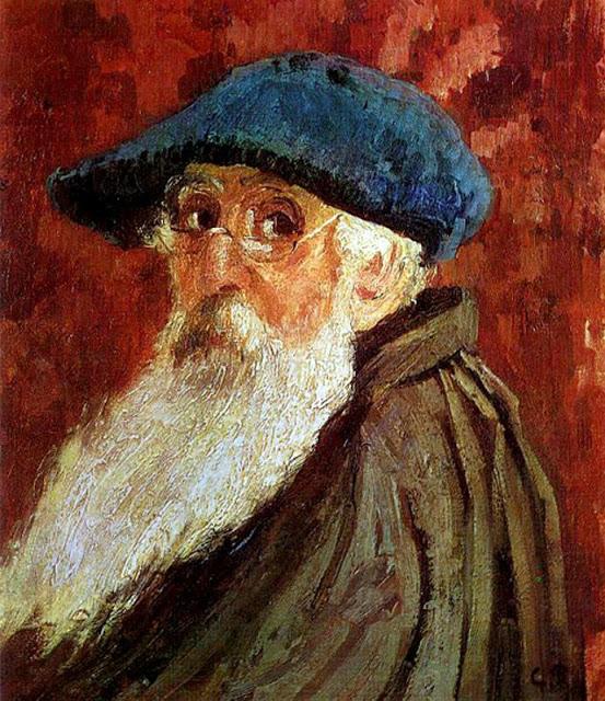 Camille Pissarro autoportrait du peintre