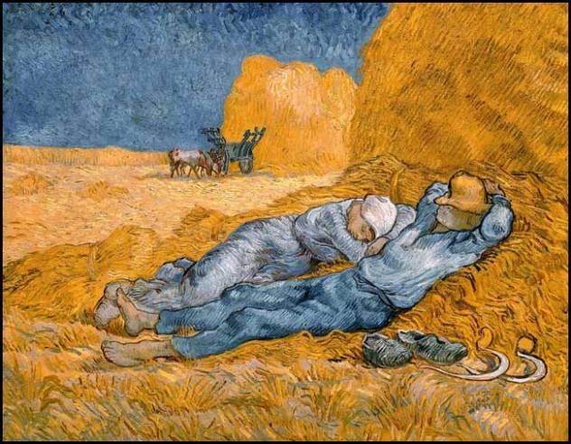 Vincent Van Gogh : La méridienne d'après Millet