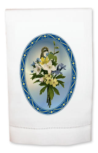 Floral Bouquet Towel