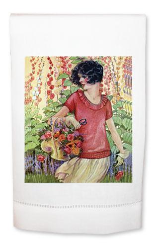 Lydia's Garden Towel