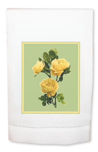 Yellow Roses Towel