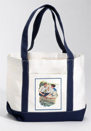 Paddle Forever Tote Bag