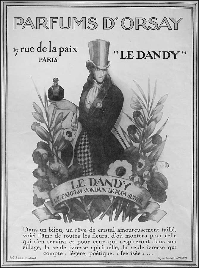 Parfums d'Orsay publicité