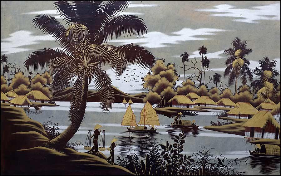 Nguyên Thành Lê - Thành Lêy laque vietnamienne