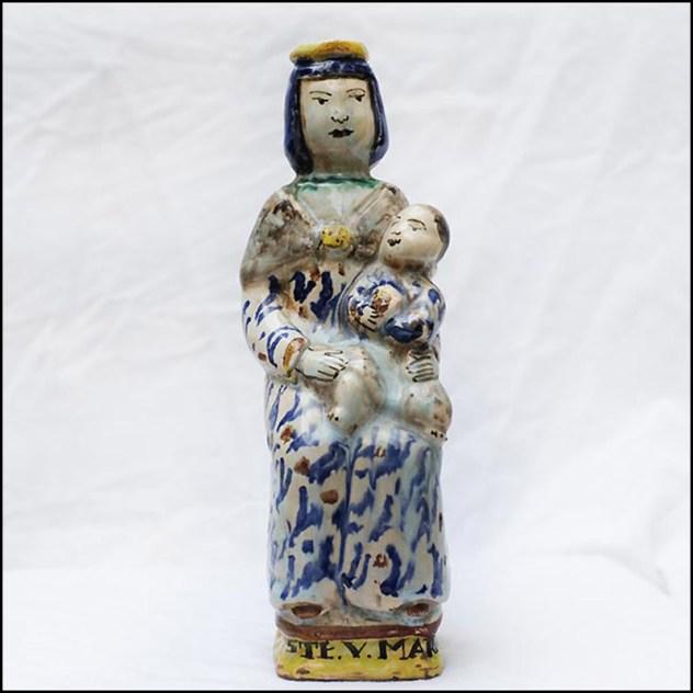 statuaire religieuse Vierge d'accouchée