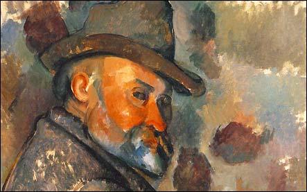 Autoportrait de Paul Cézanne