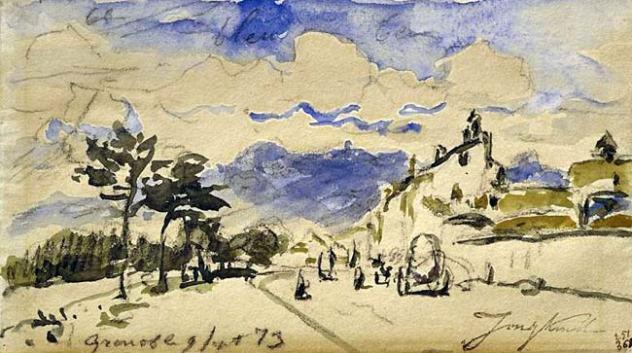 Johan Barthold Jongkind précurseur de l'Impressionnisme
