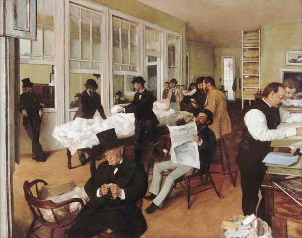 Le bureau de coton