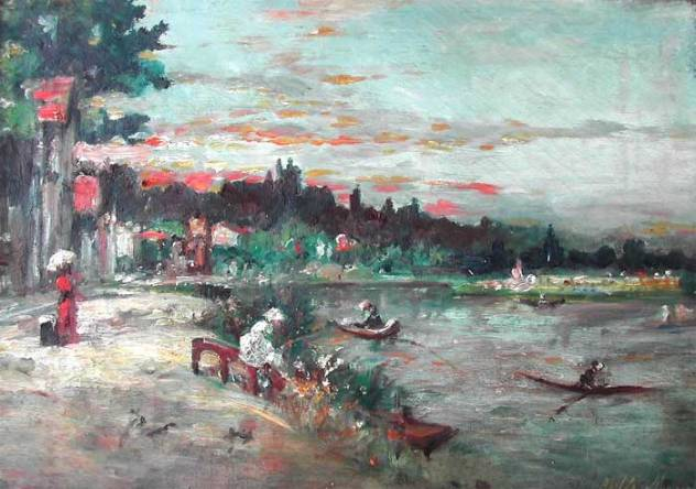 Berthe Morisot Souvenir des bords de l'Oise