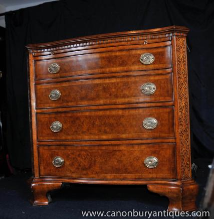 Noyer Commode Tiroirs Archives Antiquites Canonbury