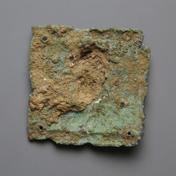 Bronze Figural Plaque