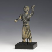 Nabataean South Arabian Bronze Offerant Statue