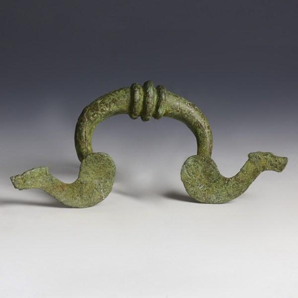 Roman Bronze Furniture Handle