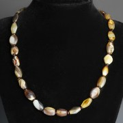 Western Asiatic Agate Bead Necklace