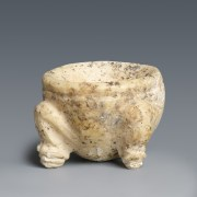 Near Eastern Alabaster Cosmetic Dish