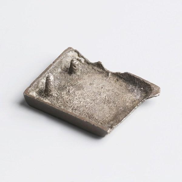 Anglo-Saxon Chip-Carved Silver Belt Mount