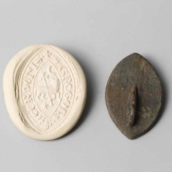 Medieval Ecclesiastical Bronze Seal Matrix
