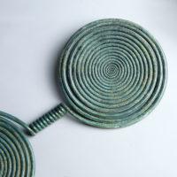 Huge Bronze Age Spiral Pendant