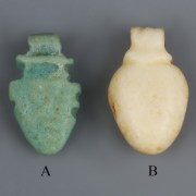 Egyptian Amarna Heart Amulets