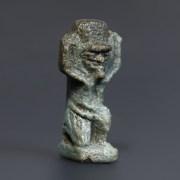 Egyptian Glazed Composition Shu Amulet