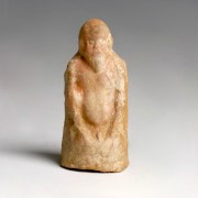 Greek Terracotta Figurine of Silenus