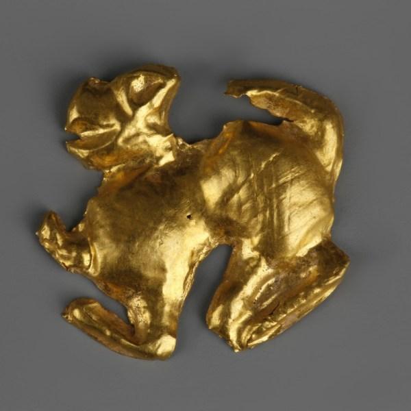 Scythian Gold Sphinx Appliqué
