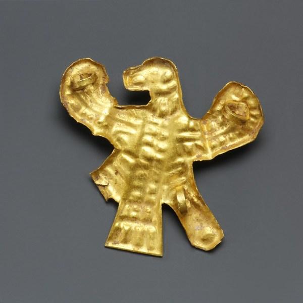 Scythian Gold Zoomorphic Appliqué