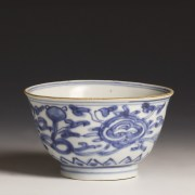 Chinese Kangxi Blue and White Bowl