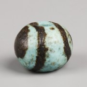 Egyptian Middle Kingdom Faience Ball Bead