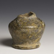 Egyptian Middle Kingdom Serpentine Kohl Vessel