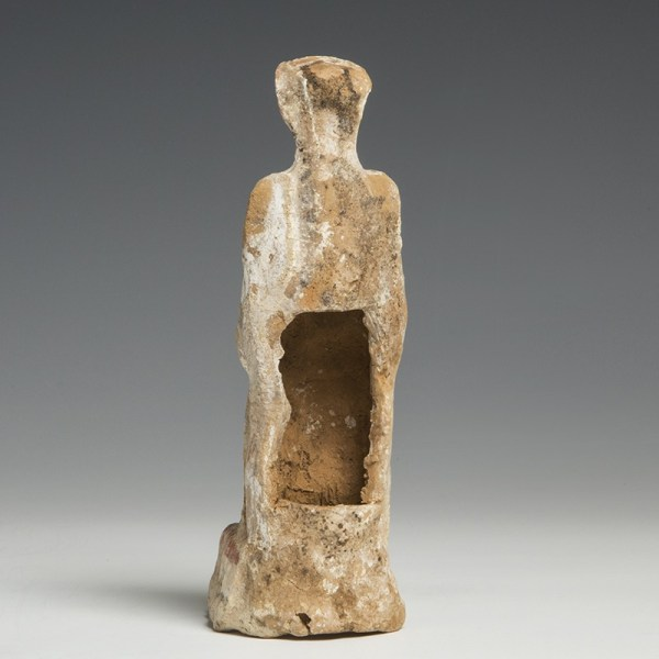 Greek 5th Century BC Pottery Figure of a Woman