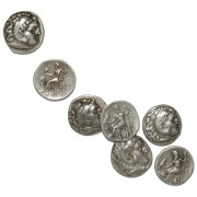 Alexander The Great Silver Drachms