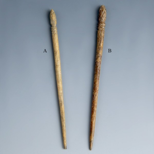 Larger Roman Bone Hair Pins