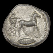 Sicily, Messana, 480-461 B.C., Ar Tetradrachm