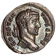 Ancient Roman silver argenteus
