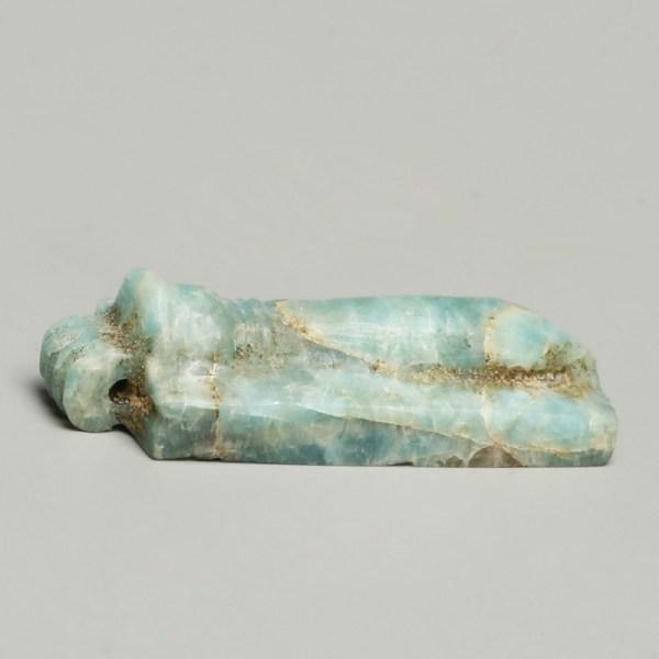 Egyptian Feldspar Papyrus Sceptre Amulet