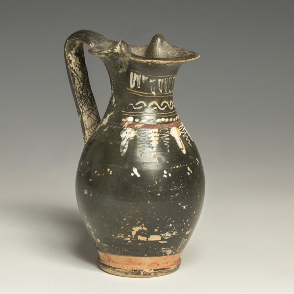 Greek Italian Pottery Oinochoe