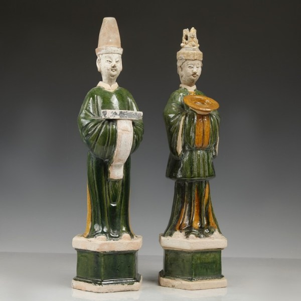 Ming Dynasty Sancai Glazed Offerants