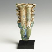 Roman Glass Double Balsamarium