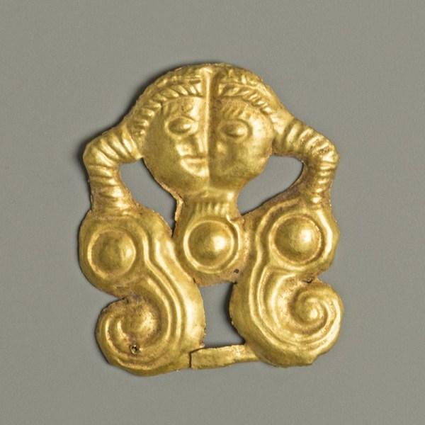 Scythian Gold Mount