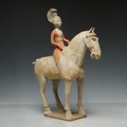 Tang Dynasty Lady Equestrian