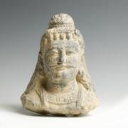 Gandharan Head of a Bodhisattva